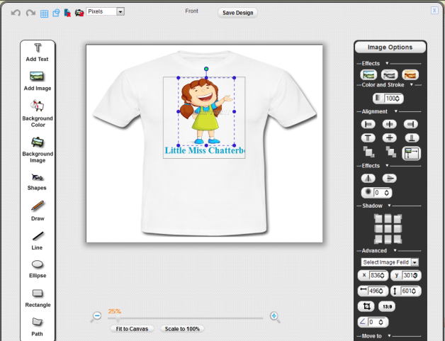 Sell custom t shirts pixopa enterprise web to print for T shirt design sell online